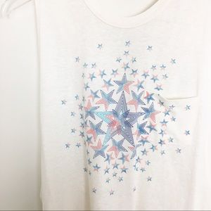 Free People Tops - NWOT Free People Movement Star Graphic Tank